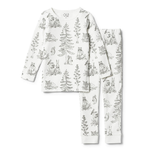 ORGANIC PETIT FORET PYJAMA SET - Wilson and Frenchy