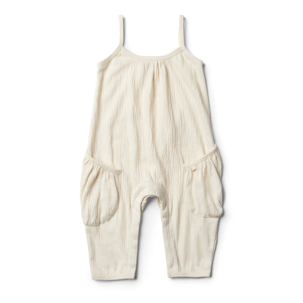 Whisper White Singlet Jumpsuit - Wilson and Frenchy