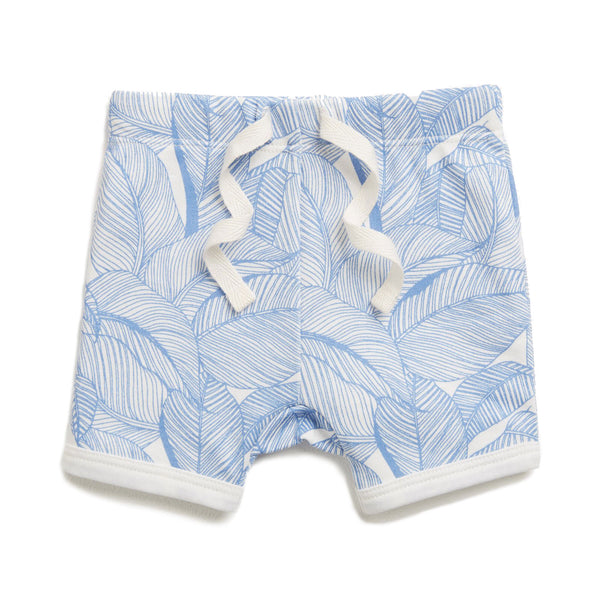 BLUE INTO THE JUNGLE SHORTS