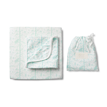 BLUE ADVENTURE AWAITS BASSINET SHEET SET - Wilson and Frenchy