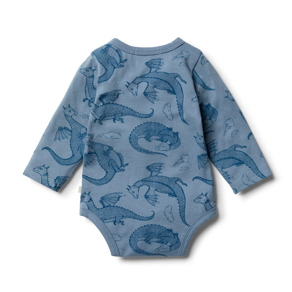 Organic Little Dragon Bodysuit - Wilson and Frenchy