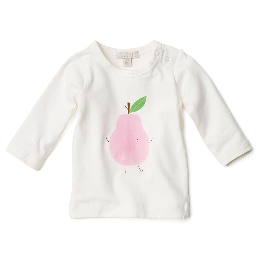 MY LITTLE PEAR LONG SLEEVE TOP - Wilson and Frenchy