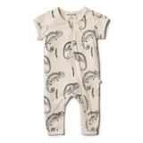 Organic Little Chameleon Zipsuit - Wilson and Frenchy