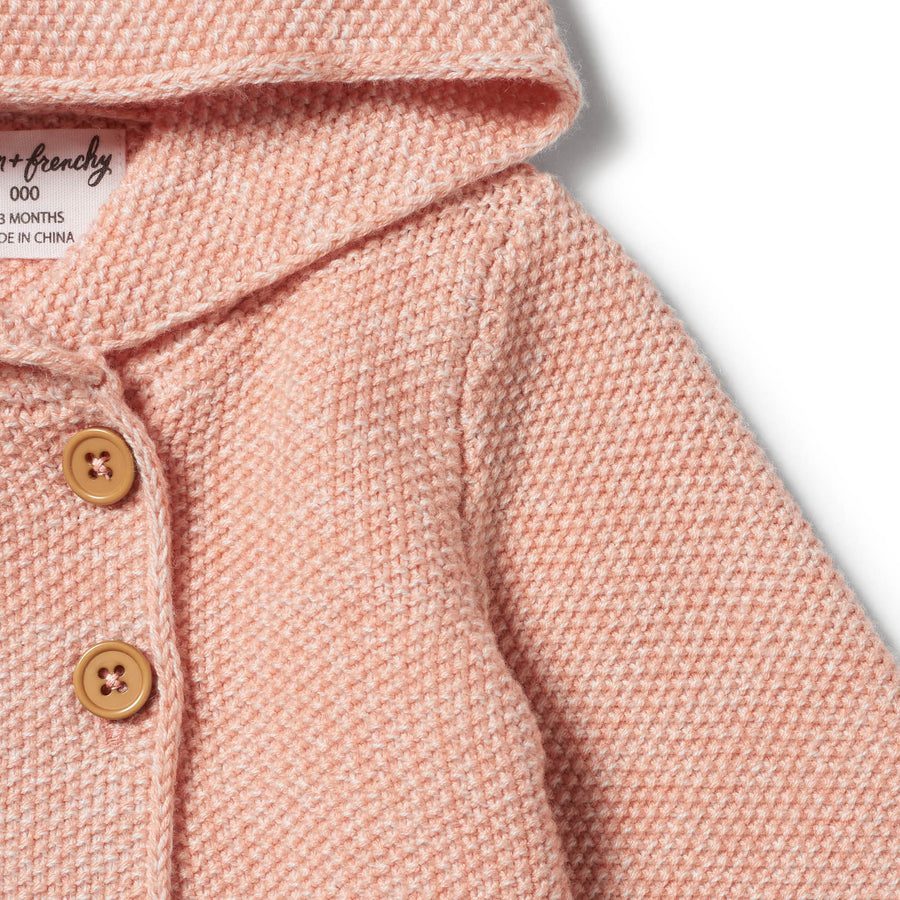 STRAWBERRY AND CREAM KNITTED JACKET-KNITTED JACKET-Wilson and Frenchy