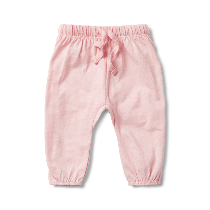 PRETTY PINK FLECK SLOUCH PANT - Wilson and Frenchy
