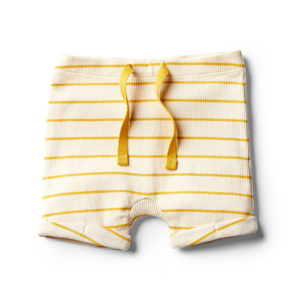 Organic Jojoba Stripe Short - Wilson and Frenchy