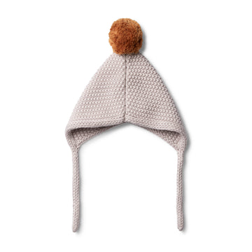 FAWN KNITTED BONNET - Wilson and Frenchy