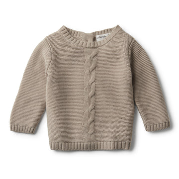 BIRCH CABLE KNIT JUMPER - Wilson and Frenchy