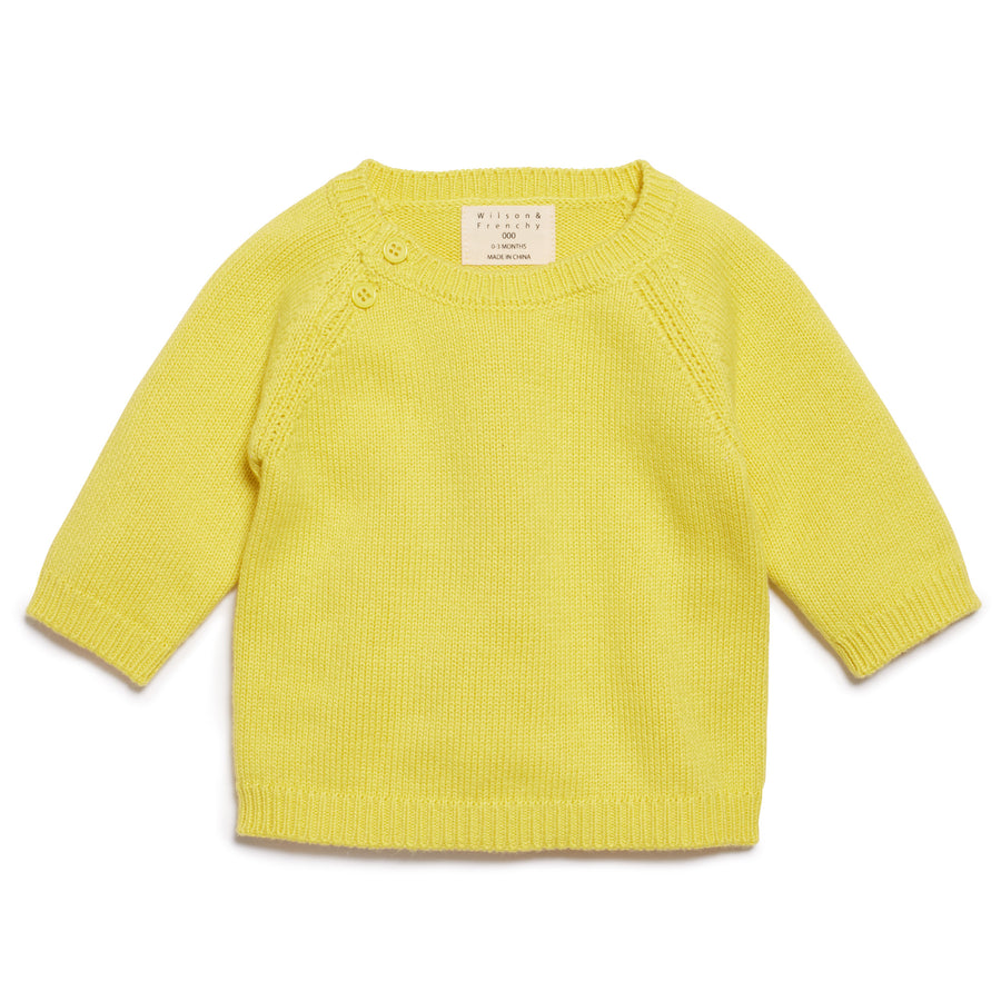 PINEAPPLE KNITTED JUMPER-KNITTED JUMPER-Wilson and Frenchy