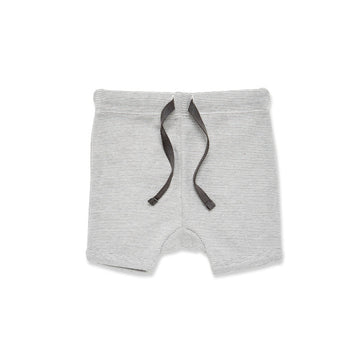 CHARCOAL STRIPE SHORTS - Wilson and Frenchy