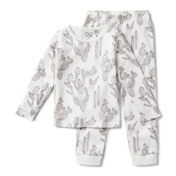 ORGANIC I'M STUCK ON YOU PYJAMA SET - Wilson and Frenchy