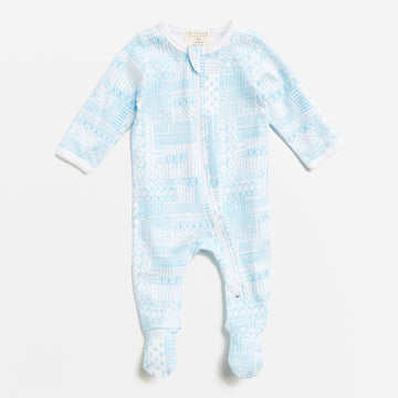 PATTERN PLAY ZIPSUIT - Wilson and Frenchy