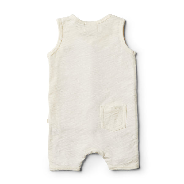 Whisper White Growsuit - Wilson and Frenchy
