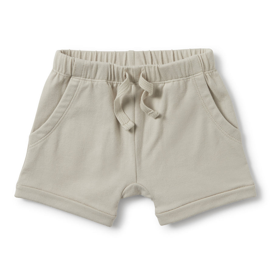 POWDER STONE SLOUCH POCKET SHORTS