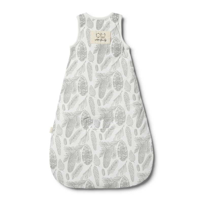Organic Little Spruce Sleeping Bag - Wilson and Frenchy