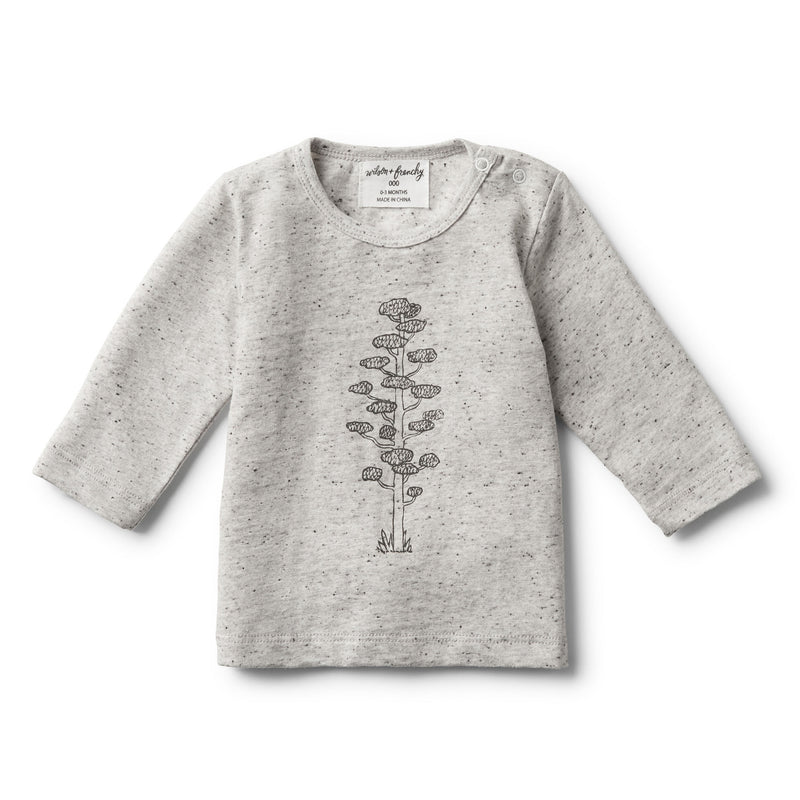 LITTLE TREE LONG SLEEVE TOP - Wilson and Frenchy
