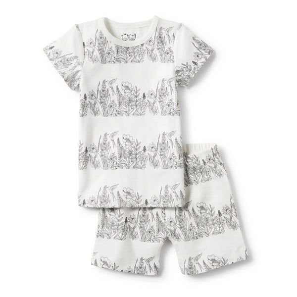 ORGANIC WONDERFUL PYJAMA SET - Wilson and Frenchy