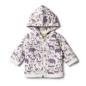GIRLS WILD WOODS ZIP THROUGH JACKET - Wilson and Frenchy