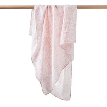 PINK ADVENTURE AWAITS MUSLIN WRAP-MUSLIN WRAP-Wilson and Frenchy