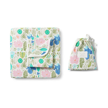 FLORA COT SET-COT SHEET SET-Wilson and Frenchy