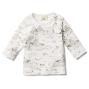 LITTLE ROW BOAT LONG SLEEVE TOP-LONG SLEEVE TOP-Wilson and Frenchy