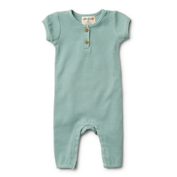 Sage Rib Growsuit - Wilson and Frenchy