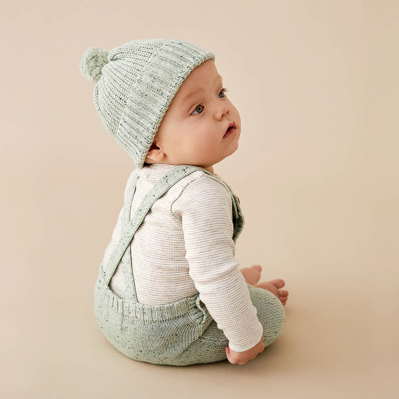 Fern Knitted Overall
