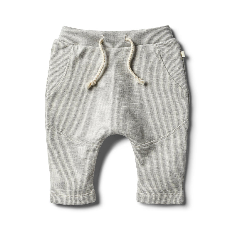 Oatmeal Speckle Sweat Pant - Wilson and Frenchy