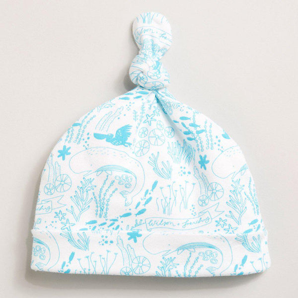 Under the sea Knot hat