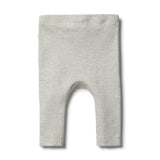 Organic Cloud Grey Legging - Wilson and Frenchy