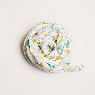 TUTTI FRUTTI MUSLIN WRAP - Wilson and Frenchy