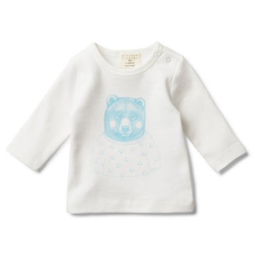 MR BEAR LONG SLEEVE TOP-Wilson and Frenchy