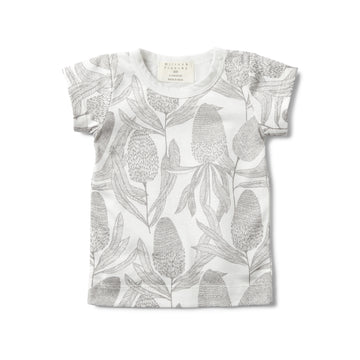 BANKSIA SHORT SLEEVE TEE-T-SHIRT-Wilson and Frenchy