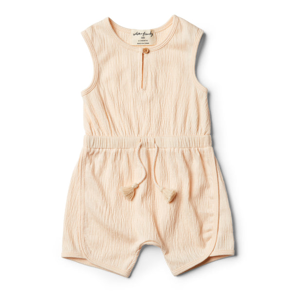 Peach Dust Playsuit - Wilson and Frenchy