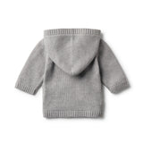 LUXE WOOL KNITTED JACKET - Wilson and Frenchy