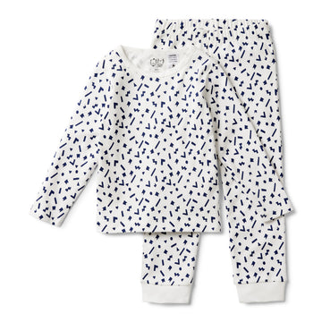 GEO PLAY LONG SLEEVE PYJAMA SET - Wilson and Frenchy