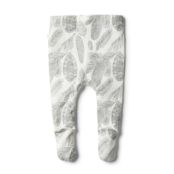 Organic Little Spruce Footed Legging - Wilson and Frenchy