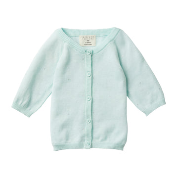 MOON DROPS KNITTED CARDIGAN - Wilson and Frenchy