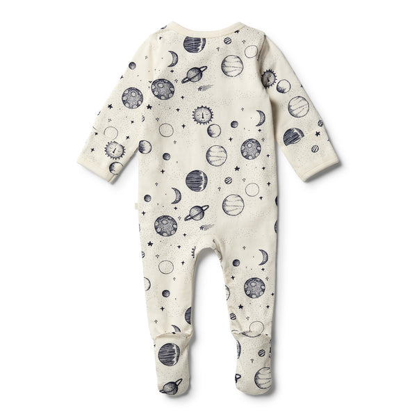 Organic Star Gazing Henley Growsuit - Wilson and Frenchy