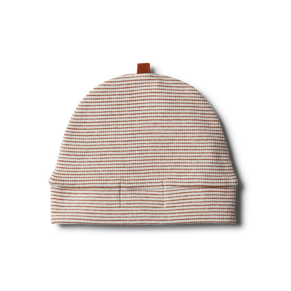 Organic Toasted Pecan Beanie - Wilson and Frenchy