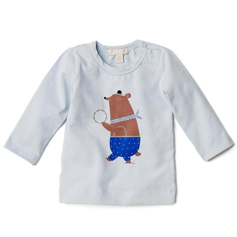 DANCING BEAR LONG SLEEVE TOP