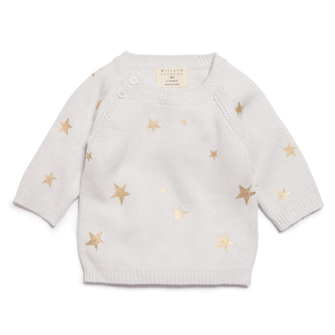 GLACIER STAR BRIGHT KNITTED JUMPER
