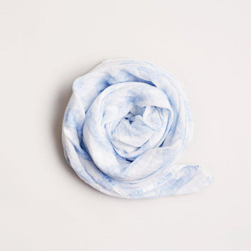 ROLLING TIDES MUSLIN WRAP - Wilson and Frenchy
