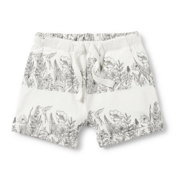 WONDERFUL SLOUCH POCKET SHORTS-SHORTS-Wilson and Frenchy