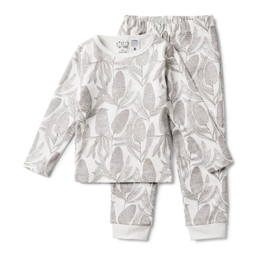 BANKSIA LONG SLEEVE PYJAMA SET - Wilson and Frenchy