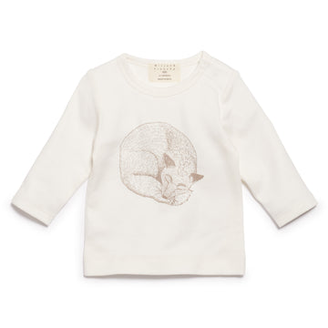 LITTLE FOXY LONG SLEEVE TOP - Wilson and Frenchy