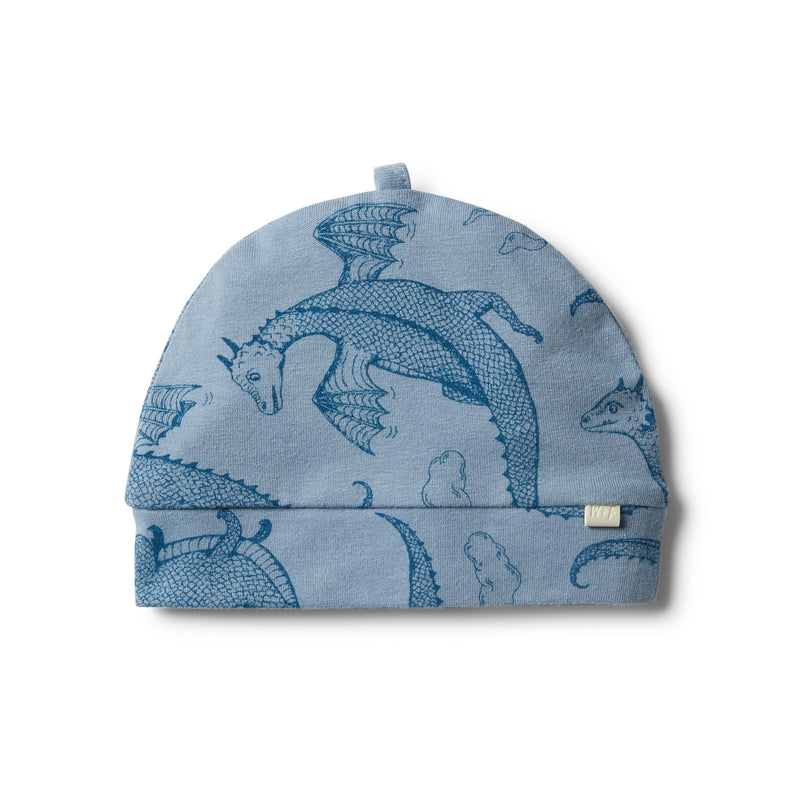 Organic Little Dragon Beanie - Wilson and Frenchy