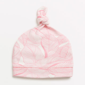 PINK INTO THE JUNGLE KNOT HAT-Wilson and Frenchy