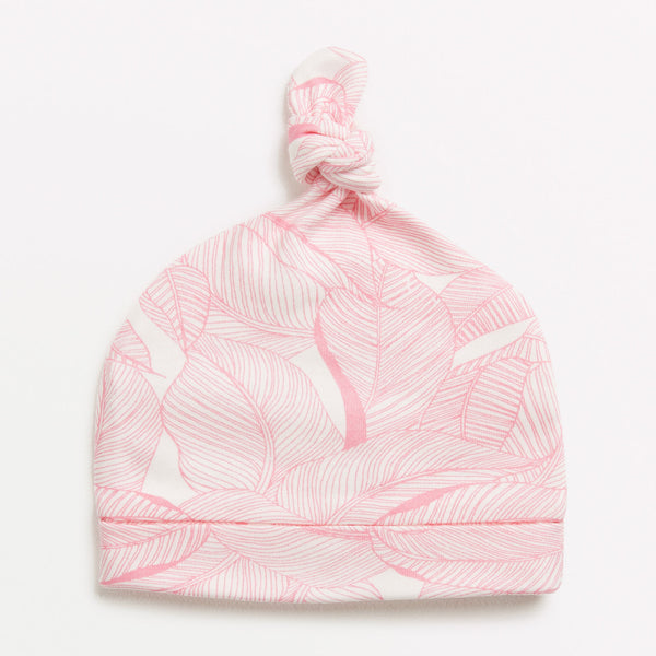 PINK INTO THE JUNGLE KNOT HAT - Wilson and Frenchy