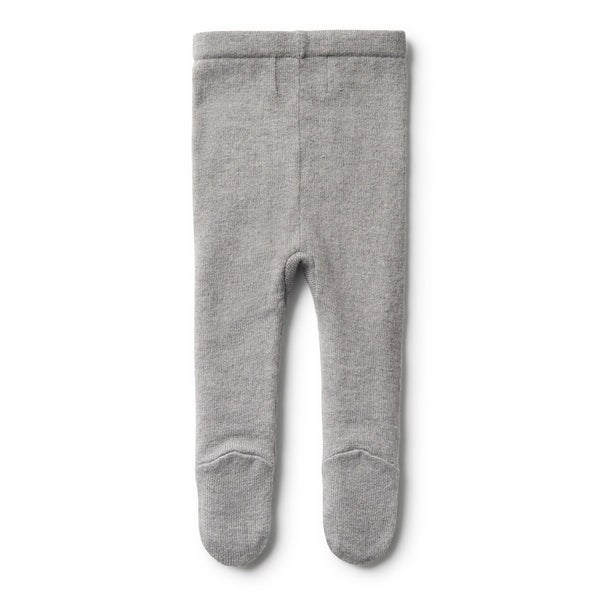 LUXE WOOL KNITTED LEGGINGS - Wilson and Frenchy